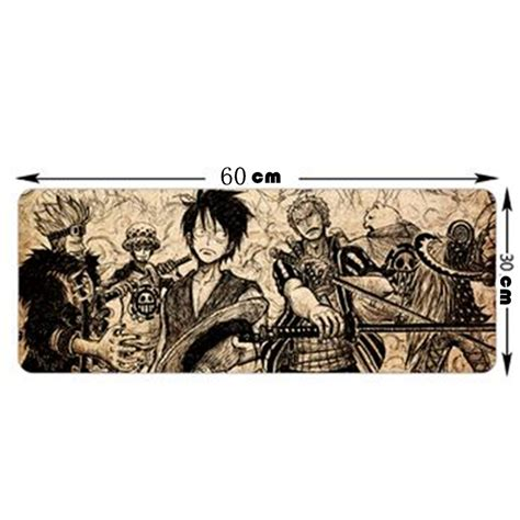 anoboy one piece 300 new fashion large mouse pad with cartoon one piece pattern