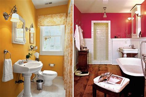 yellow and pink bathroom amazing chic and inspirational colorful bathroom ideas in
