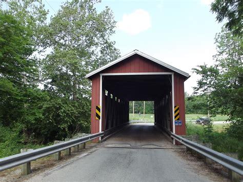 bridgehunter com martinsville road covered bridge 35 14 09