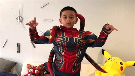 disney store iron spiderman marvel avengers infinity war
