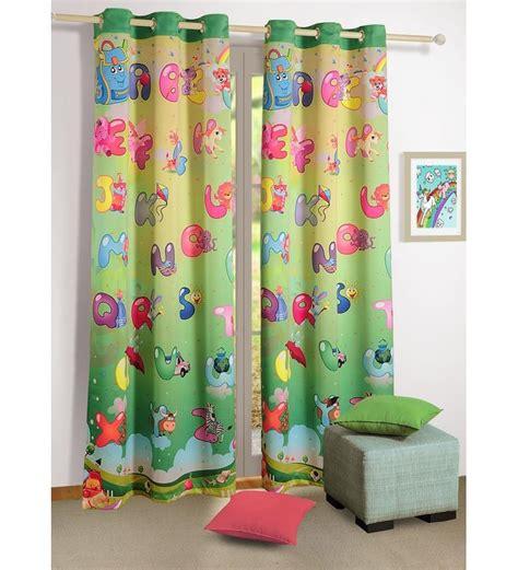 Swayam Digital Printed Kids Door Curtain With Eyelets By