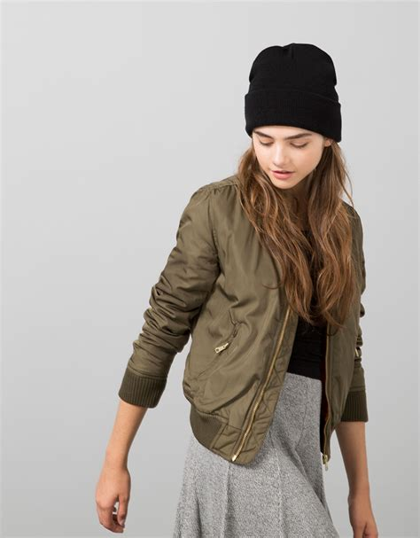 bsk bomber jacket null bershka united kingdom