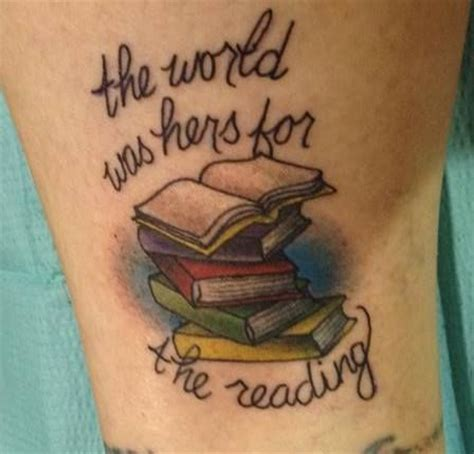 book lover tattoos book lover images