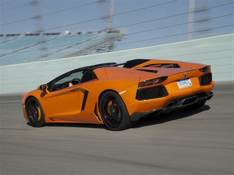 lamborghini aventador s roadster orange 2014 lamborghini aventador lp700 4 roadster supercar orange track r wallpaper 2048x1536