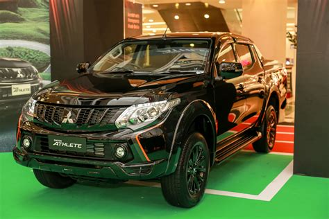 mitsubishi triton 2018 mitsubishi motors malaysia launches new triton athlete 4 215 4