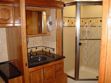 2 bathroom rv hit the road in style with hgtv rv hgtv