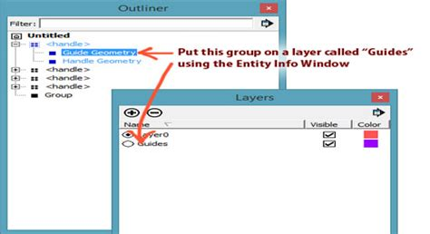 sketchup layout hide guides using guides in sketchup