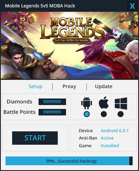 mobile legend hack tool mobile legends hack working tested 100
