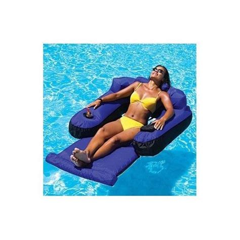 Pool Chair With Drinks Holder by Pool Float Lounger Drink Holder Lake Boating Chair Tanning