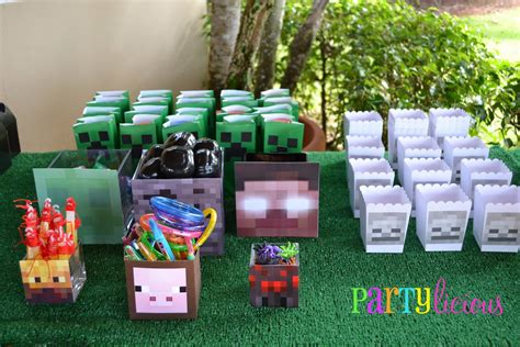 party themes minecraft partylicious events pr minecraft birthday party