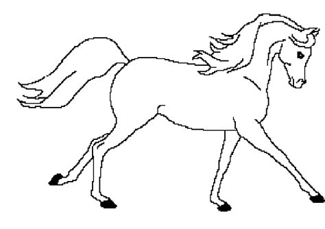 black and white coloring pages of horses line art arabian horse by skyeblackwolf on deviantart