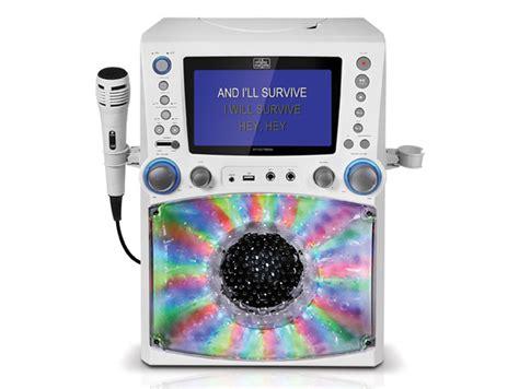 singing machine bluetooth karaoke system with disco lights singing machine stvg785bt cdg mp3g bluetooth karaoke all