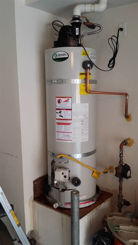 water heater vent pipe promax tankless water heaters plumbing
