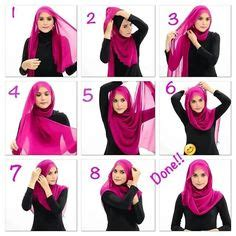 tutorial hijab pashmina chiffon simple 1000 images about hijab tutorial and tips on pinterest