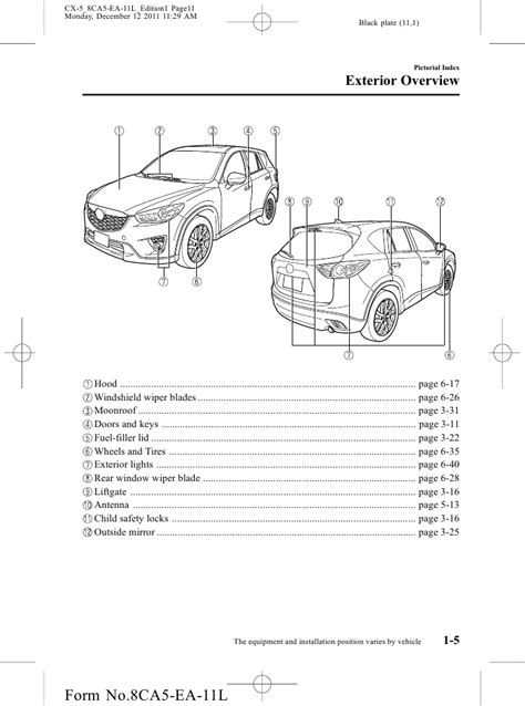 2013 Mazda Cx 5 Crossover Suv Owners Manual Provided By