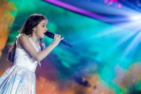 junior eurovision make it pop bulgaria s lidia ganeva explodes with colour