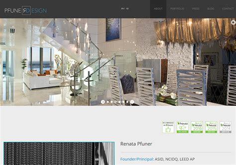 interior design inspiration sites 100 interior designer decorator websites portfolio