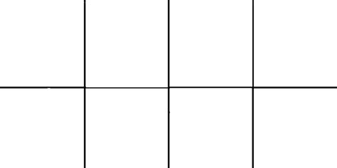 four panel comic template custom comic template by lightningdood on deviantart