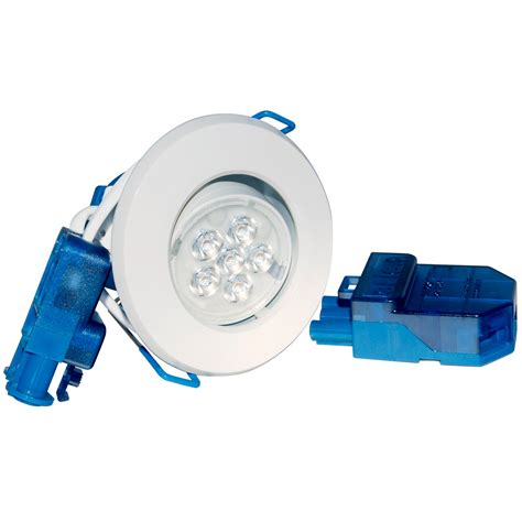 Luxmenn Downlight 7w White inceptor micro 7w warm white integrated led downlight