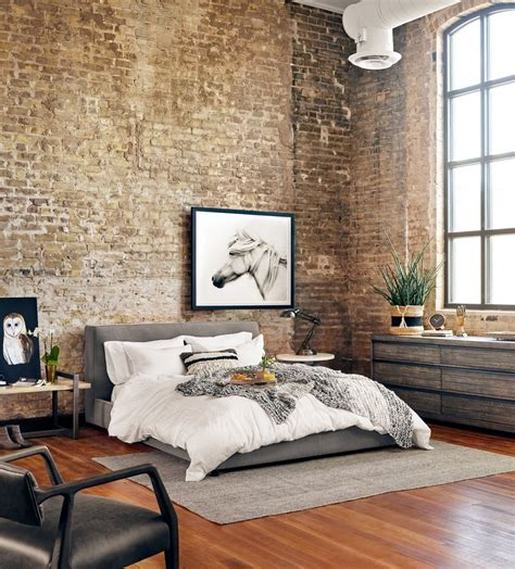 Loft In Bedroom by Gardiner Low Profile Upholstered King Platform Bed King