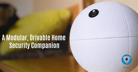orbii a mobile home security robot with hd indiegogo