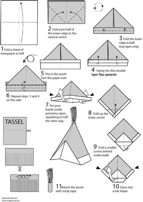 How To Fold A Paper Boat Hat