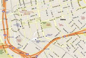 map of downtown dallas downtown dallas attractions map