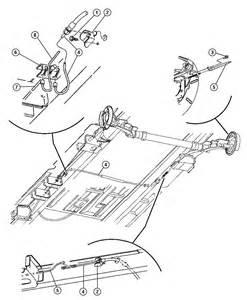 Brake System Dodge Caravan 2005 Dodge Grand Caravan Cables Rear Parking Brake