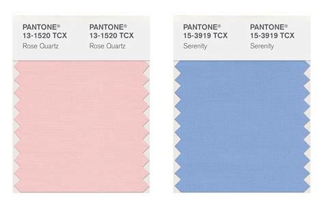pantone colors of the year list pantone color of the year 2016 serenity and rose quartz