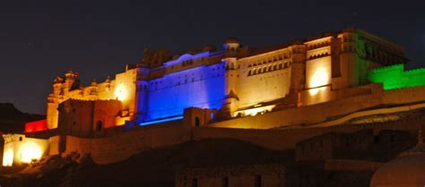 light and sound show amber fort the most beautiful fort of jaipur