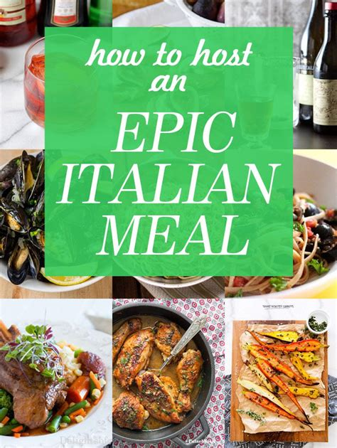 theme dinner names your guide to an epic italian meal an home and wine