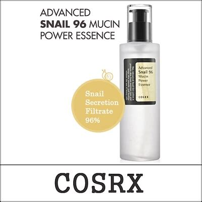 qoo10 cosrx advanced snail 96 mucin power essence 100ml skin care