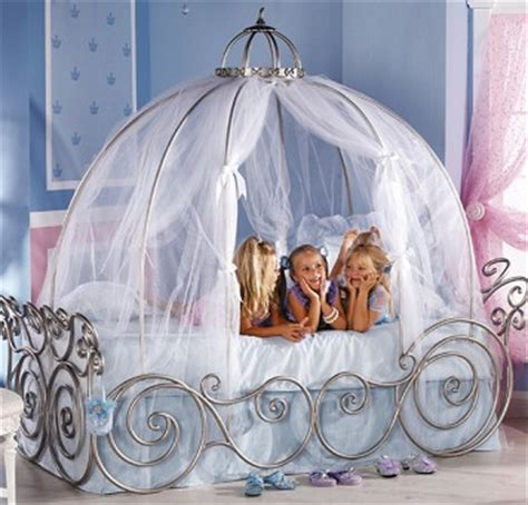 Cinderella Carriage Bed by Fairytale Canopy Beds For Your Princess