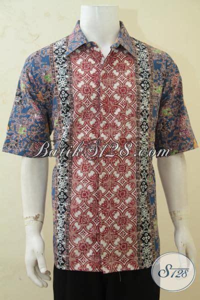 Baju Cowok Jawa baju batik jawa exclusive pria karir untuk til makin tan hem batik lengan pendek cap