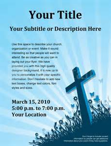 religious flyers template free easter flyer template flyer templates