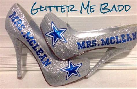 dallas cowboys high heels for sale dallas cowboys wedding heels for a by glitter me