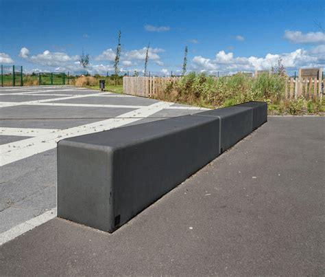 polished concrete bench timor black polished concrete seating neptune street