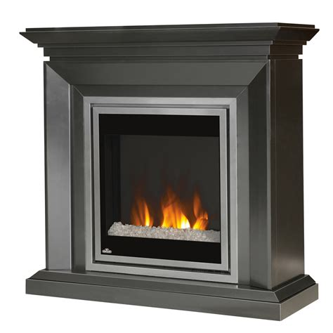 napoleon 30 in in electric fireplace insert w glass