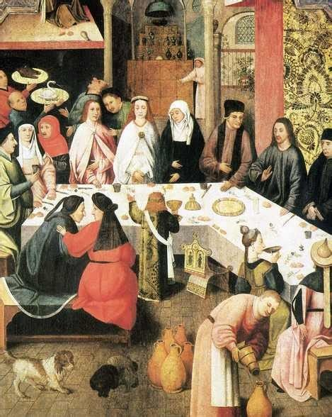 Hieronymus Bosch Wedding At Cana by The Of Splendor Wedding Feast At Cana By Paolo