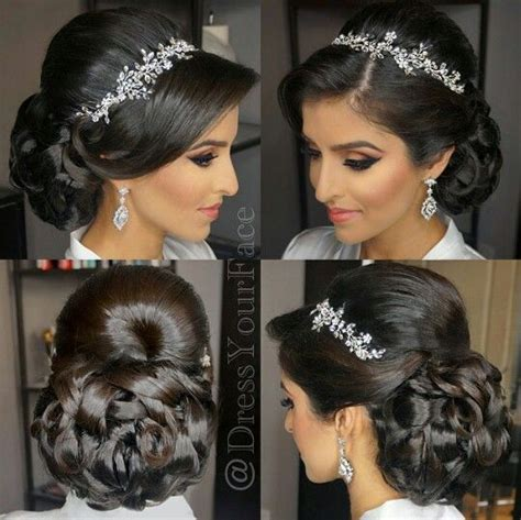 Hair Styles With Rhinestones | beautiful updo hairstyle with rhinestone headband