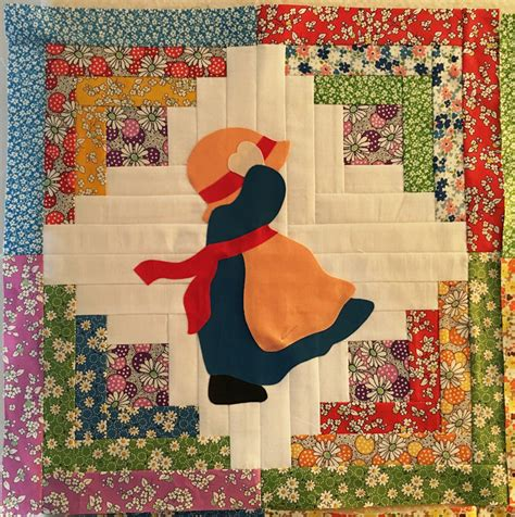Sunbonnet Sue Quilt Block Pattern by Debby Kratovil Quilts Revisiting Sunbonnet Sue And Free