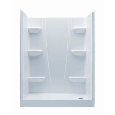 Home Depot Shower Stall by Aquatic A2 30 In X 60 In X 76 In Shower Stall In White