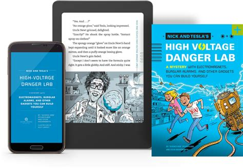 Nick And Tesla Books Nick And Tesla S High Voltage Danger Lab Quirk Books