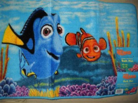 Nemo Bath Mat by New Disney Pixar Finding Nemo Fish Bathroom Rug Mat Ebay