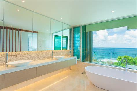 beach bathroom decorating ideas dream house experience modern beachside dwelling uninterrupted sea views