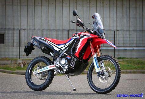 Motor Trail Honda Crf 250 motor trail honda crf250 rally resmi dirilis harga rp 62