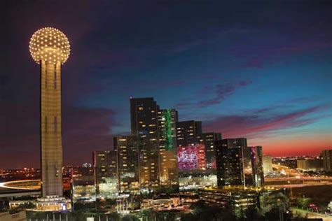 reunion tower in dallas restaurants tour