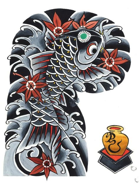 traditional japanese tattoo design garyou tensei 108 japanese sleeve designs by yushi
