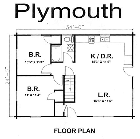 house floor plans with dimensions house floor plans with plymouth ranch style log home log home kits plans