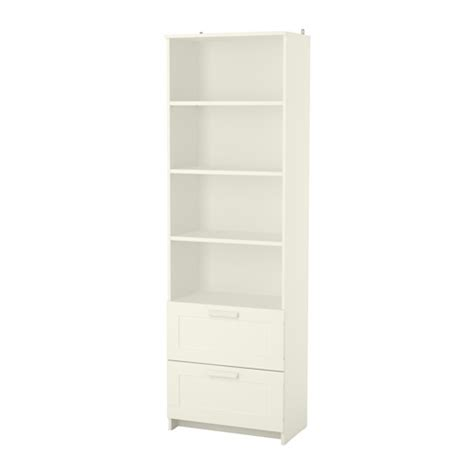 Brimnes Bookcase White Ikea White Bookcases With Drawers